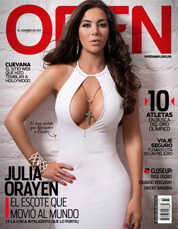 Julia Orayen revista Open