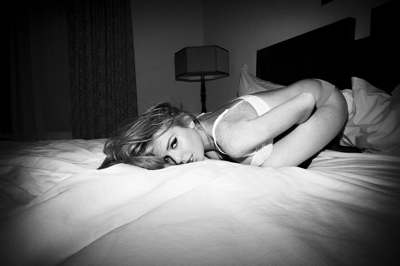 Lindsay Lohan lenceria