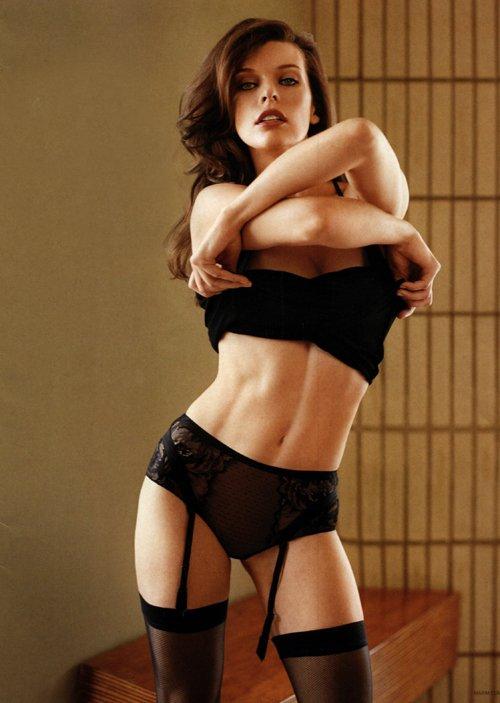 Milla Jovovich Maxim