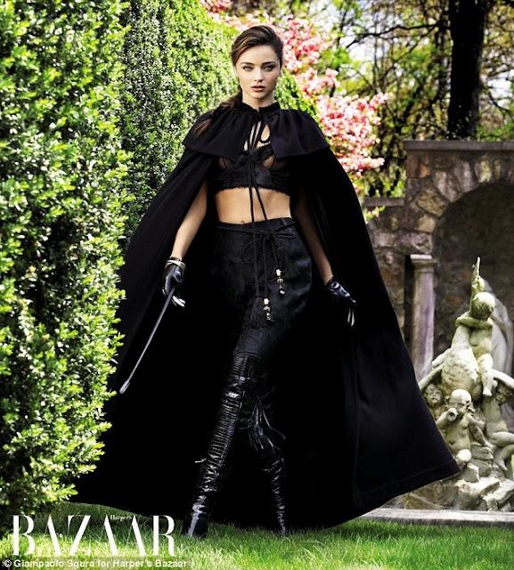 Miranda Kerr Harpers Bazaar