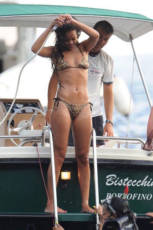 Rihanna en Bikini