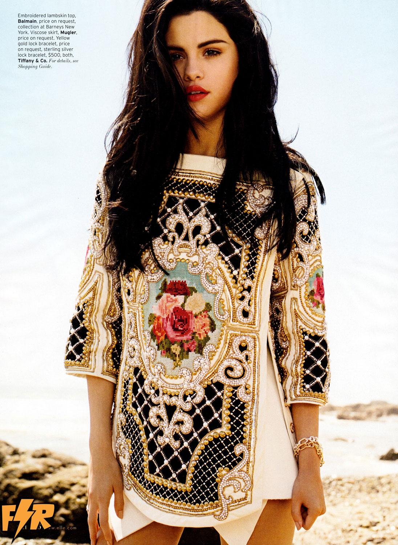 Selena Gomez revista ELLE