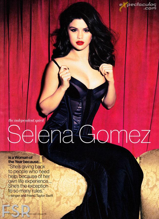 Selena Gomez revista Glamour
