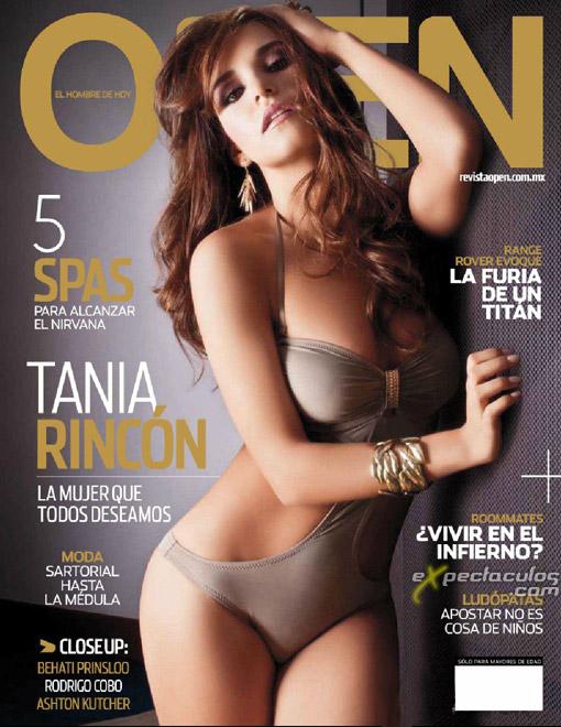 Tania Rincon revista Open