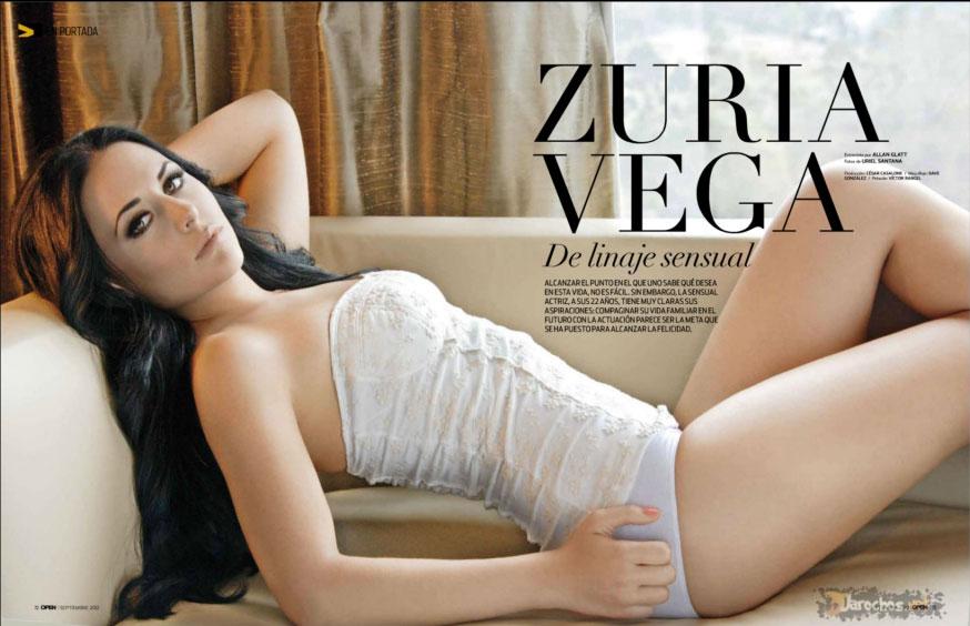 Zuria Vega revista Open