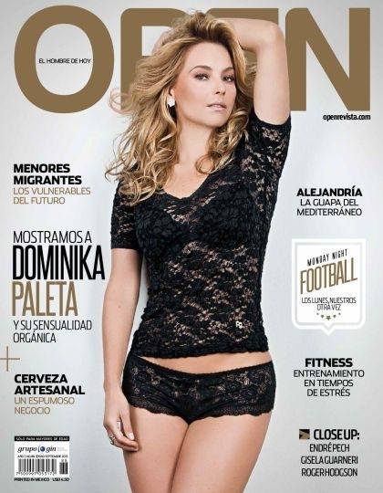 Dominika Paleta revista open 2013