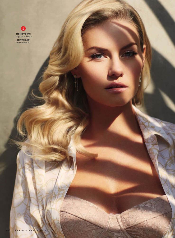 Elisha Cuthbert revista Maxim