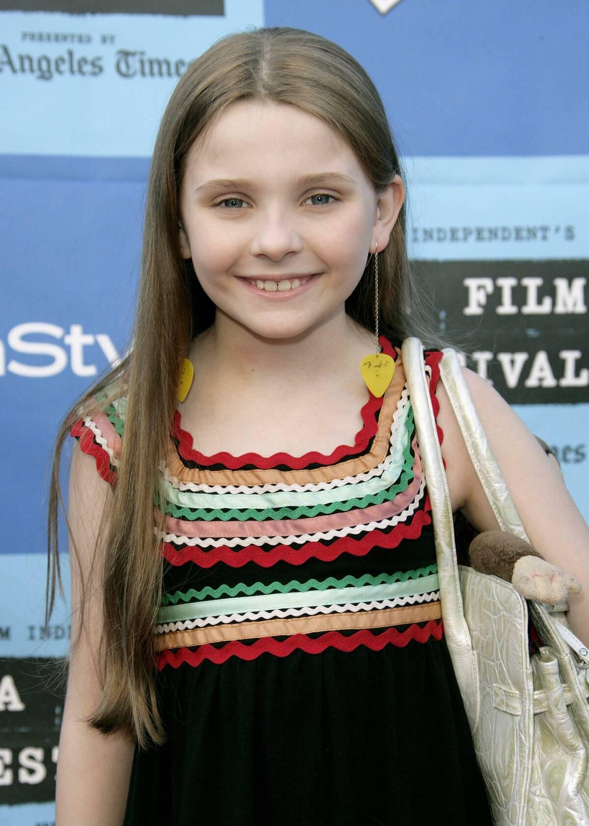 Abigail Breslin little