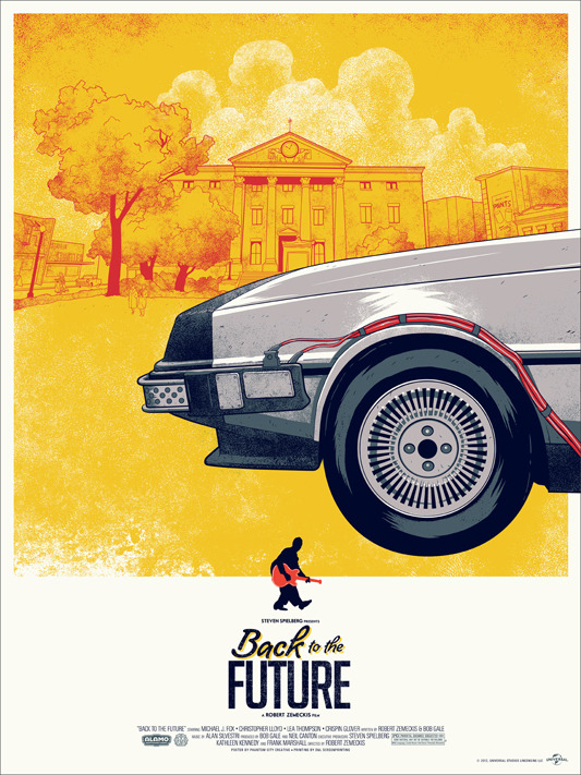 Back to the future Mondo posters