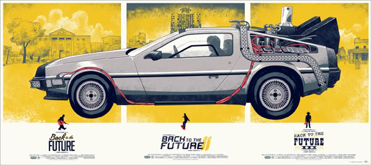 Back to the future Mondo posters