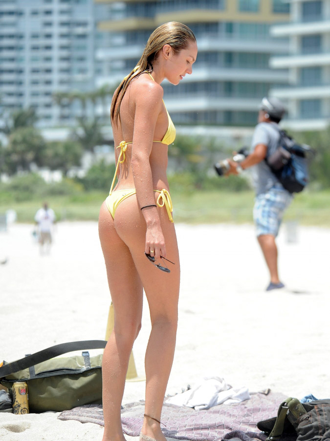 Candice Swanepoel bikini ass 12