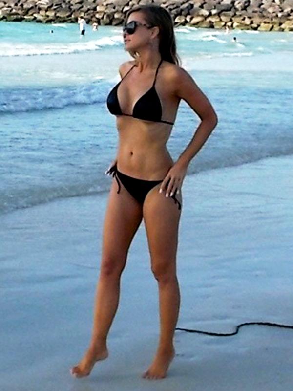 Carmen Elektra Bikini Dubai