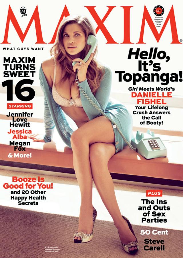 Danielle Fishel topanga en Maxim