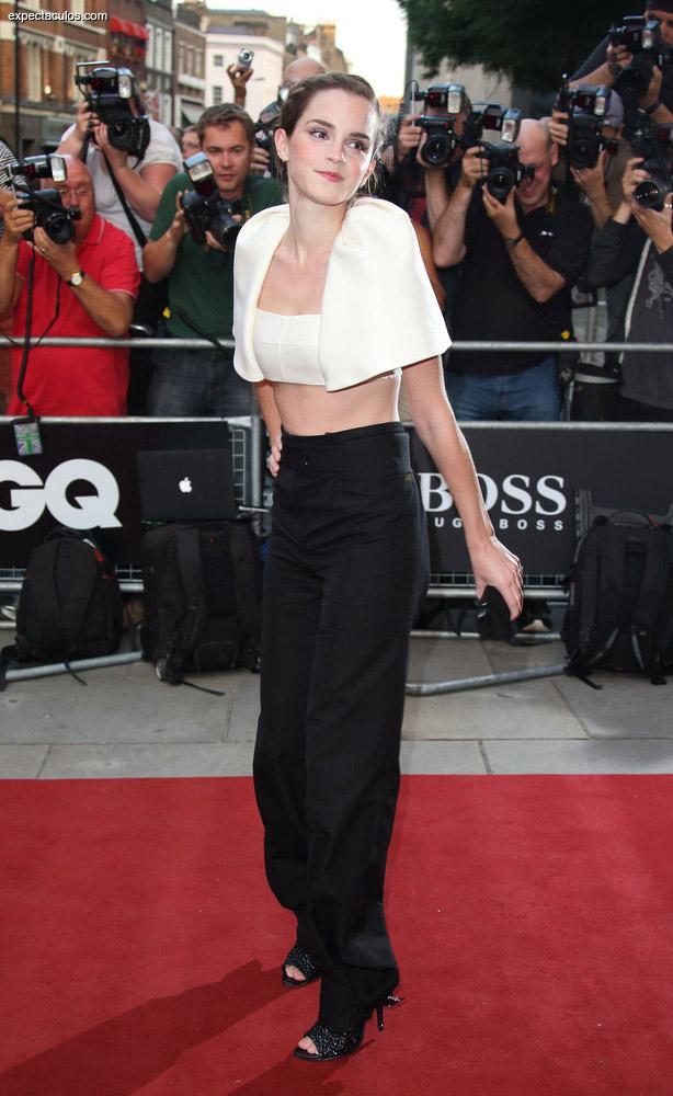 Emma Watson GQ awards