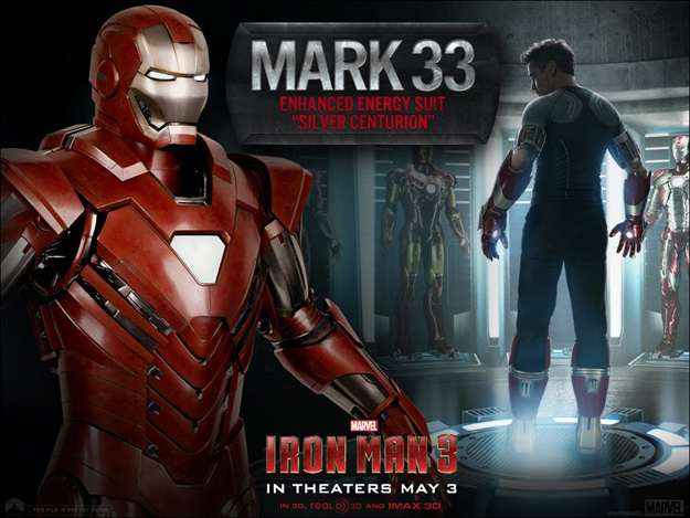 Iron Man 3 Mark 33