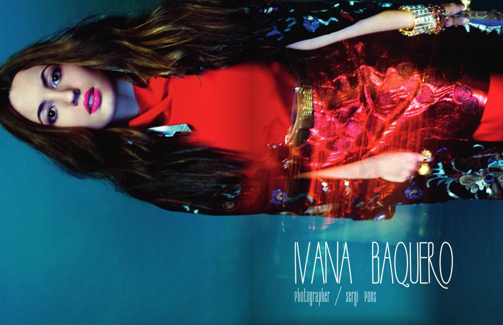 Ivana Baquero revista Schon