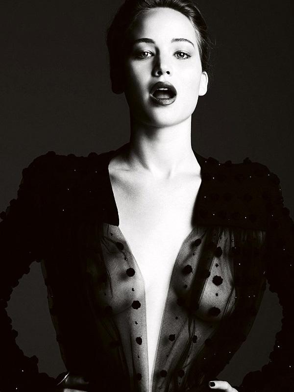 Jennifer Lawrence Harper Bazaar