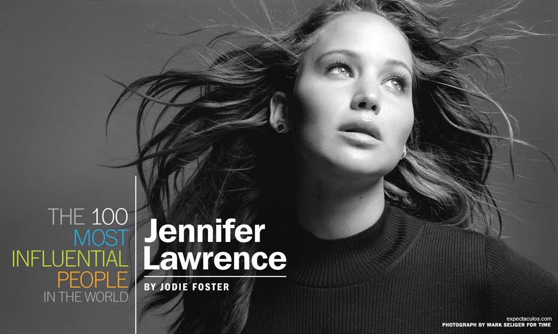 Jennifer Lawrence revista TIME