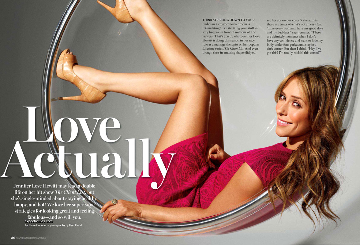 Jennifer Love Hewitt revista Shape