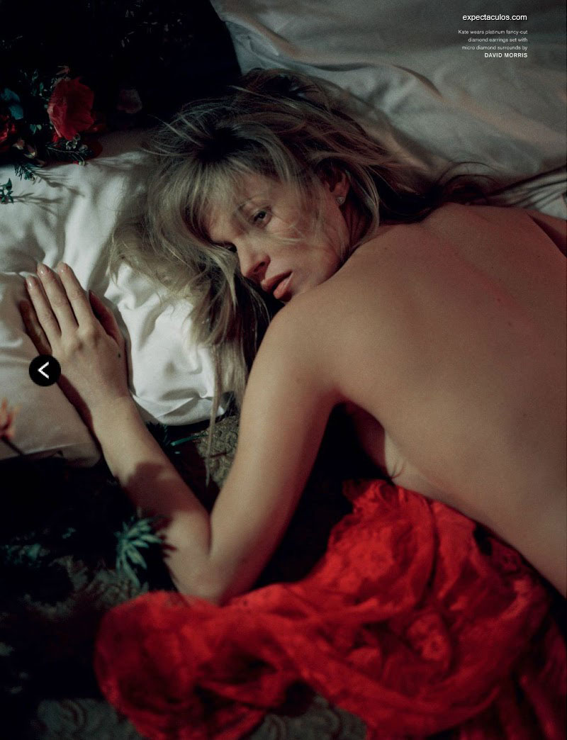 Kate Moss revista LOVE