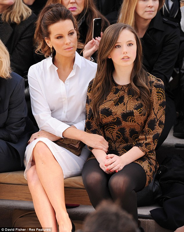 Kate Beckinsale y su hija