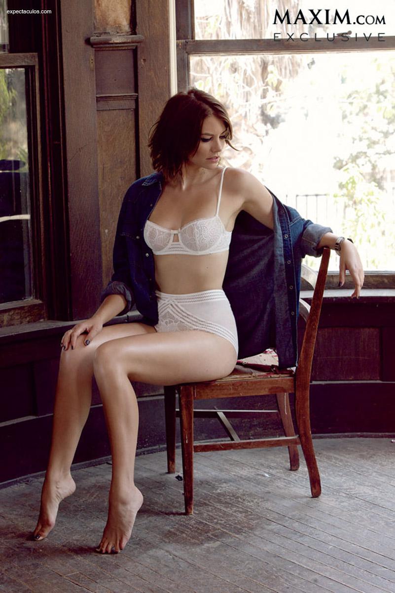 Lauren Cohan Maxim