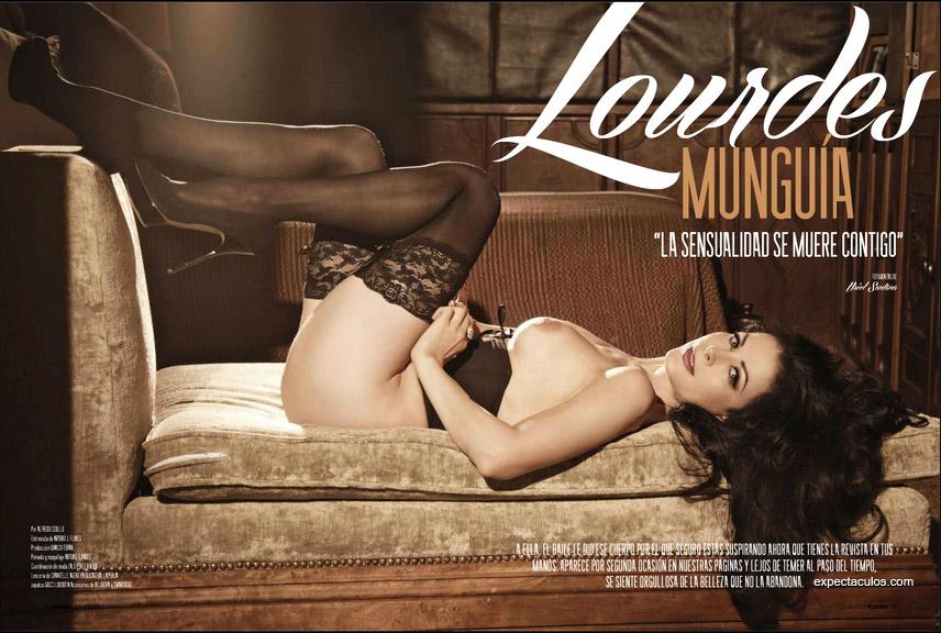 Lourdes Munguia revista Playboy 2013