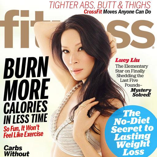 Lucy Lui revista Fitness