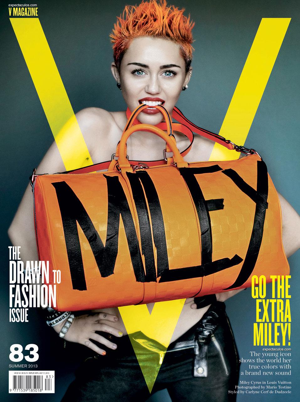Miley Cyrus V Magazine