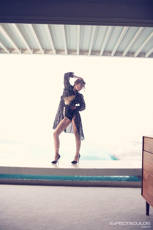 Olivia Wilde revista Elle