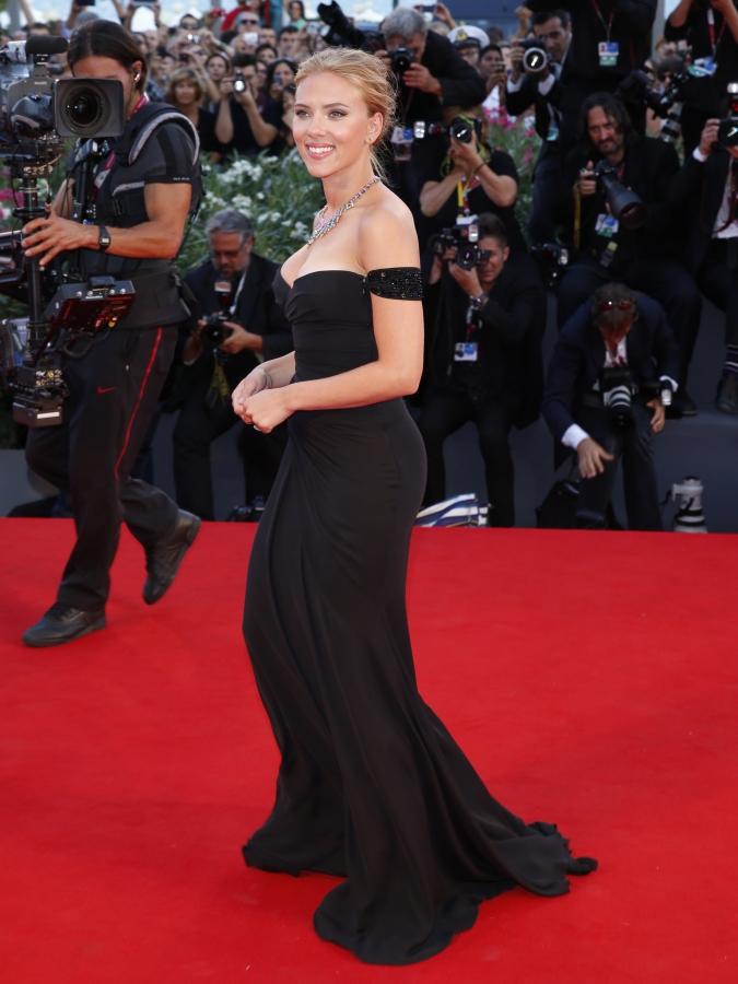Scarlett Johansson Venice Film Festival