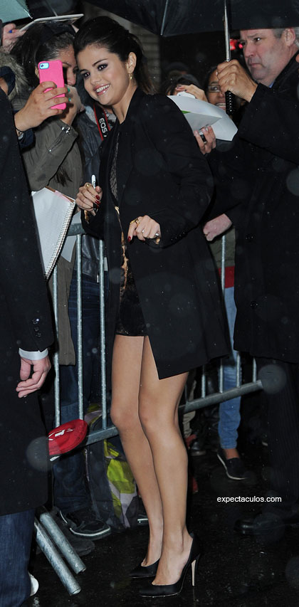 Selena Gomez Letterman