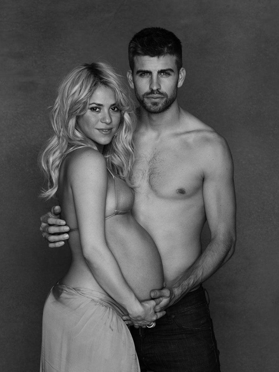 Shakira y Pique embarazo
