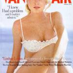 Lindsay Lohan en Vanity Fair