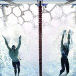 La 7ma de Michael Phelps con photo finish