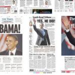 Las portadas del triunfo de Obama