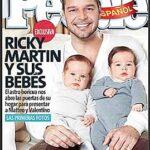 Foto Ricky Martin y sus gemelos