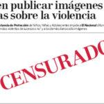 Prohiben publicar fotos sobre violencia a periodico en Venezuela