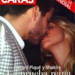 Foto del beso entre Shakira y Pique