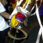 Fotos de como quedo dañada la Copa del Rey