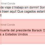 Lo que Ninel Conde nunca dijo en twitter