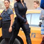 Scarlett Johansson como Black Widow en The Avengers