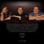 La pagina de Pixar da tributo a Jobs