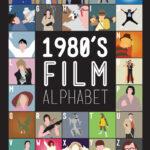 Alfabeto con posters de peliculas 80s
