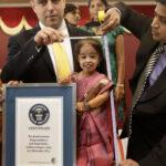 Jyoti Amge la mujer mas pequeña del mundo