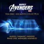 The Avengers en Blu-ray edicion de 10 discos