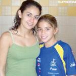 En el 2009 Alejandra Orozco le pidio una foto a Paola Espinosa, hoy ganan medalla de plata