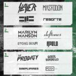 Deftones, Slayer, The Prodigy y Marilyn Manson en festival Maquinaria