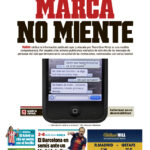 Diario Marca vs Real Madrid