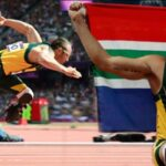 El atleta paralimpico Oscar Pistorius mato a su novia Reeva Steenkamp